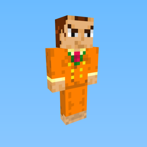 MCGamers Minecraft Skin DOwnload Orange Suit is he Irish Mindcrack real life, how to join,